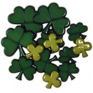 Набор пуговиц St. Patrick's Day от Favorite Findings