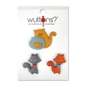Пуговицы Meow коллекция Wuttons  от BLUMENTHAL LANSING