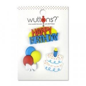 Пуговицы Birthday  коллекция Wuttons  от BLUMENTHAL LANSING