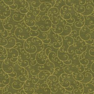 Ткань NATURAL SPLENDOR Green Quilting Treasures