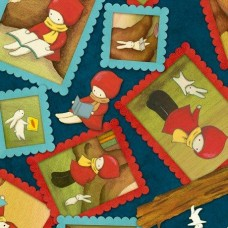 Ткань FRAMED CHARACTER TOSS Quilting Treasures