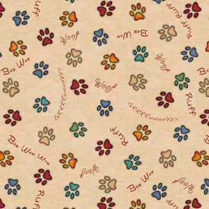 Ткань PAW PRINTS Quilting Treasures
