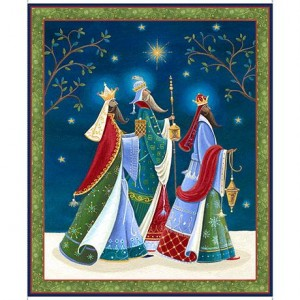 THREE WISE MEN PANEL, Quilting Treasures