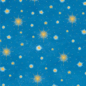 Ткань STARS Blue, Quilting Treasures
