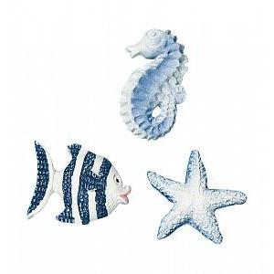Набор декоративных элементов Рыбки 6 Rayher Hobby