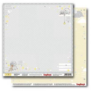 Двусторонняя бумага 30,5 *30,5 см Веселое детство Колыбельная от ScrapBerry's