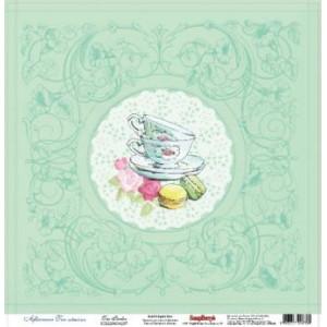 Одностороняя бумага 30 * 30 Сладости Чайная от ScrapBerry's