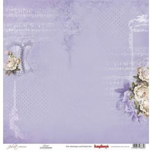 Одностороняя бумага 30,5 *30,5 см Джульетта Грация от ScrapBerry's