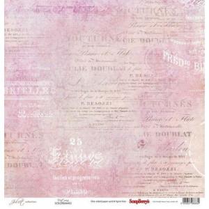 Одностороняя бумага 30,5 *30,5 см Джульетта Виктория от ScrapBerry's