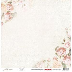 Одностороняя бумага 30,5 *30,5 см Джульетта Сказка от ScrapBerry's