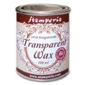Воск - полироль нейтральный (прозрачный) TRANSPARENT WAX
