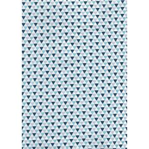 Ткань Blue Triangles