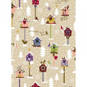 Ткань Snow Village Stoffabrics