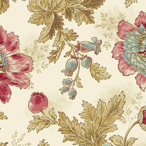 Ткань Super Bloom Sand Makower UK