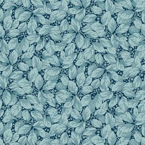 Ткань Super Bloom Foliage Iris Makower UK