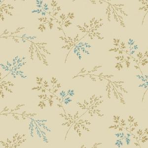 Ткань Super Bloom Twigs Light Khaki Makower UK