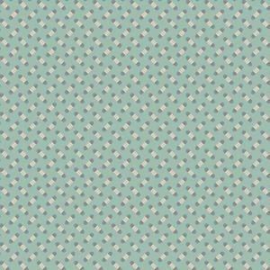 Ткань Super Bloom Sweet Pea Dusty Blue Makower UK