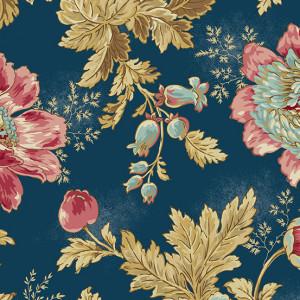 Ткань Super Bloom Super Bloom Dusk Makower UK