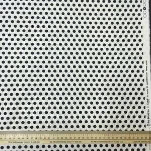 Ткань Горох  кремово-чёрный от Moda Fabrics