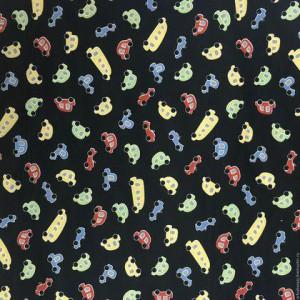 Ткань Весёлые машинки Red Rooster Fabrics