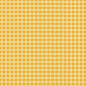 Ткань Garden Days GINGHAM YELLOW Benartex