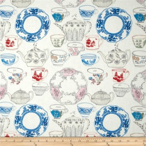 Ткань Devonshire Tea White Tea Garden, Blend Fabrics
