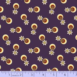 Ткань 8040-0177 из коллекции Victoria's Violets от Marcus Fabrics