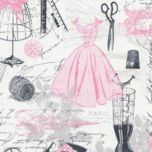 Ткань C2329-Pink из коллекции  ERA от Timeless Treasures