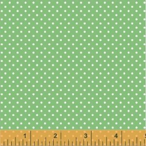 Ткань Dot Green Two by Two Windham Fabrics