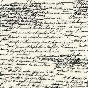 Ткань CX4521 BLAC D Old Script от Michael Miller