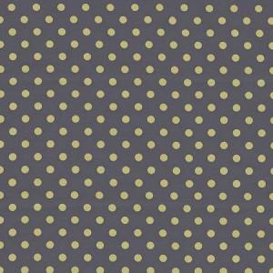 """Ткань CX2490 PLUT D Горох на сером из коллекции """"Зеленое яблоко""""от Michael Miller"""