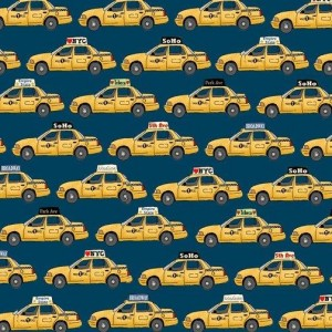 Ткань NYC Taxi Makower