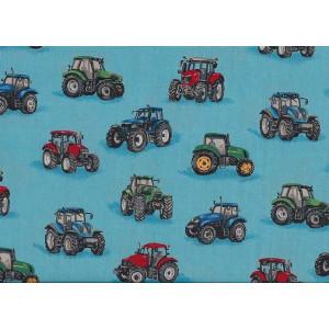 "Ткань ""1053 Farm Tractors"" от Makower"