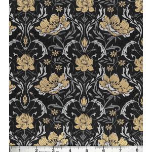 Ткань Floral Metallic Buttercream Jo-Ann Fabrics and Craft Stories