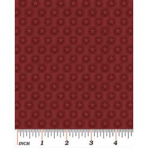 Ткань Stars Cranberry, Benartex