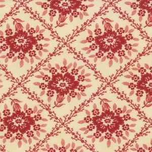 Ткань Midwinter Reds, Cream Red,  Moda Fabrics