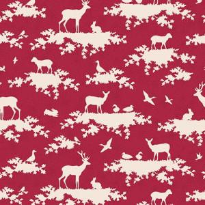 Tilda Forest Carmine Red