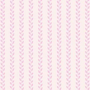 Tilda Leaf Garland Pink