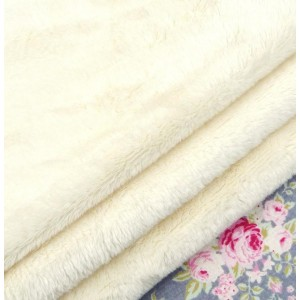 Polar Bear Fur Cream Fabric, Tilda