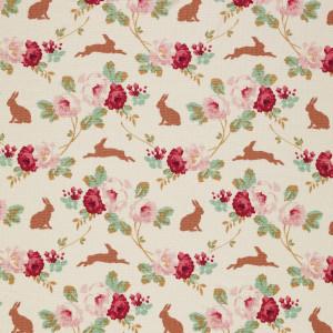 Tilda Rabbit and Roses Linen
