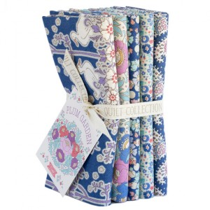 Tilda PlumGarden Fat Quarter Bundle Blueberry