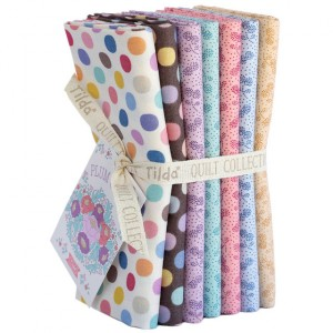 Tilda PlumGarden Fat Quarter Bundle Calm Extras
