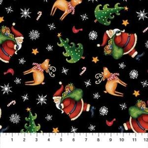 Ткань 25 Days Til Christmas Northcott