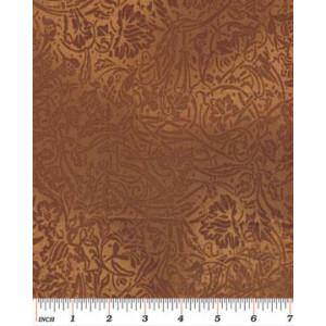 Ткань 5286 Coffee Scroll  из коллекции Cafe au Lait от Kanvas