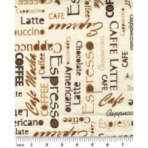 Ткань 5287 Café  Expressions  из коллекции Cafe au Lait от Kanvas