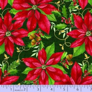 Ткань Holiday Blooms 0435-0755, Marcus Fabrics