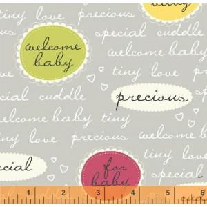 """Ткань Надписи 36349 из коллекция """"Precious"""" от Windham Fabrics"""