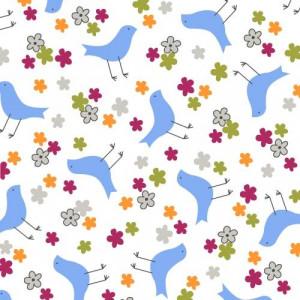 """Ткань Птицы 36350 из коллекция """"Precious"""" от Windham Fabrics"""