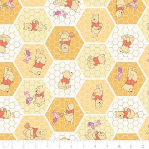 Ткань Tea Time in Chamomile Winnie The Pooh Сamelot Fabrics