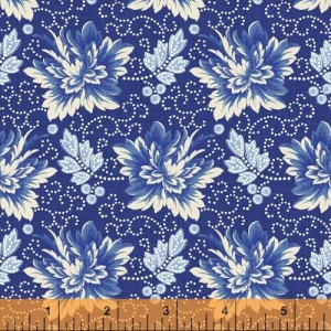 Ткань Bluebell Medium Floral Windham Fabrics